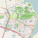 Wuhan University Map