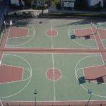 SHNU Outdoors Basketball Court