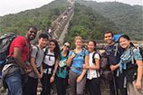 ruc students-chinese great wall