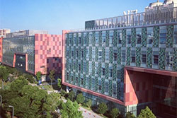 The science buildings at Xian-Jiaotong Liverpool University