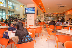 XJTLU campus cafeteria