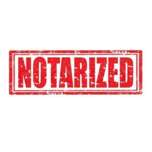 notarization docs